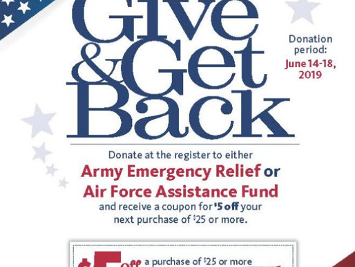 Army & Air Force Exchange Service Partners with Air Force Assistance Fund and Army Emergency Re