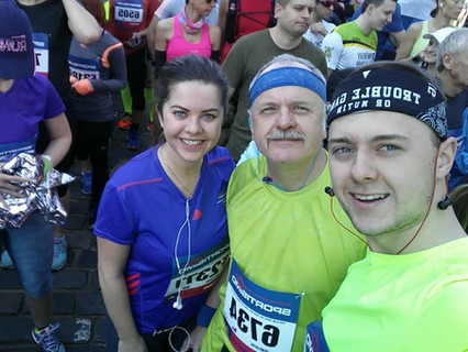 Zaběhnout půlmaraton