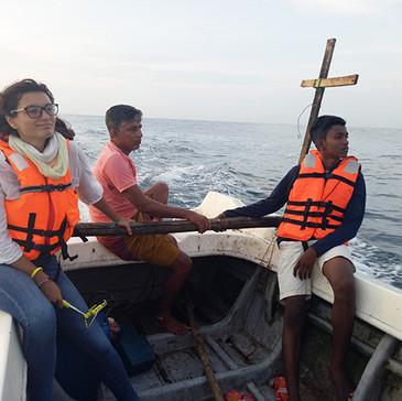 16. Rybařit na moři