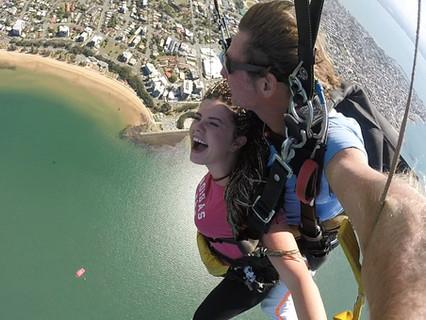 Vyskočit z letadla