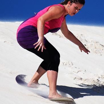 8.Vyzkoušet sandboarding