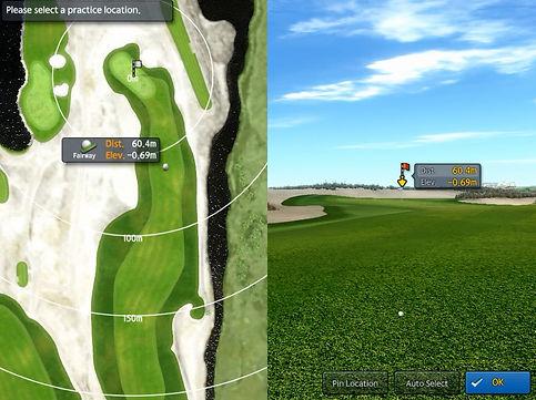 Golfzon GDR modlaità campo da gioco