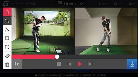 Golfzon Swing Replay