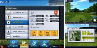 Golfzon GDR Software