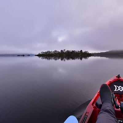 Loch Lomond Winter Low Cloud