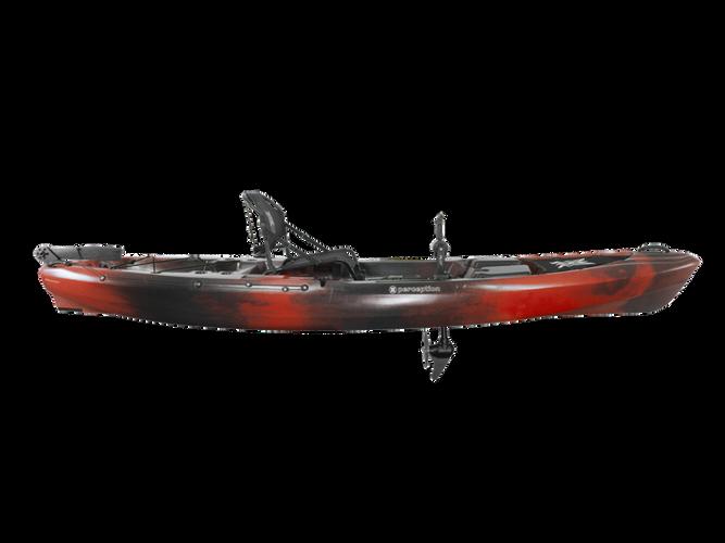 Side View Perception Pescador Pilot 12.0