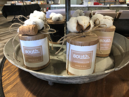 south. Candles