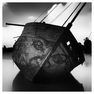 Cimetière de bateaux, France