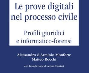 """E' uscito il libro """"Le prove digitali nel processo civile"""" dei founder di NetworkLex"""