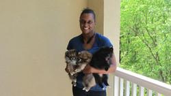 Princess Nahla, Armani, & Bear