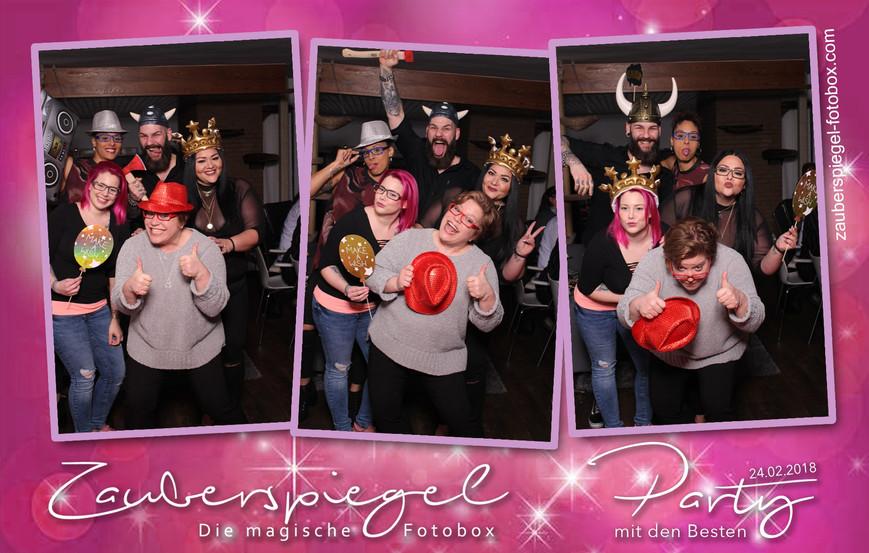 Zauberspiegel Party