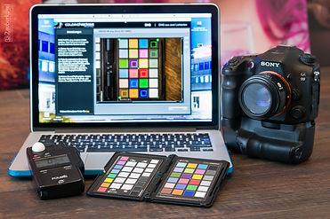 Zauberkugel Kamera Profilierung