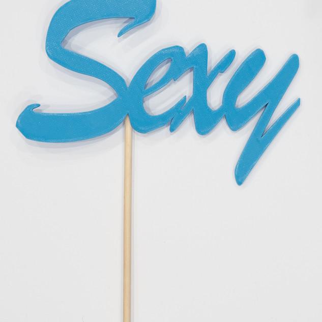 """Schriftzug """"Sexy"""""""