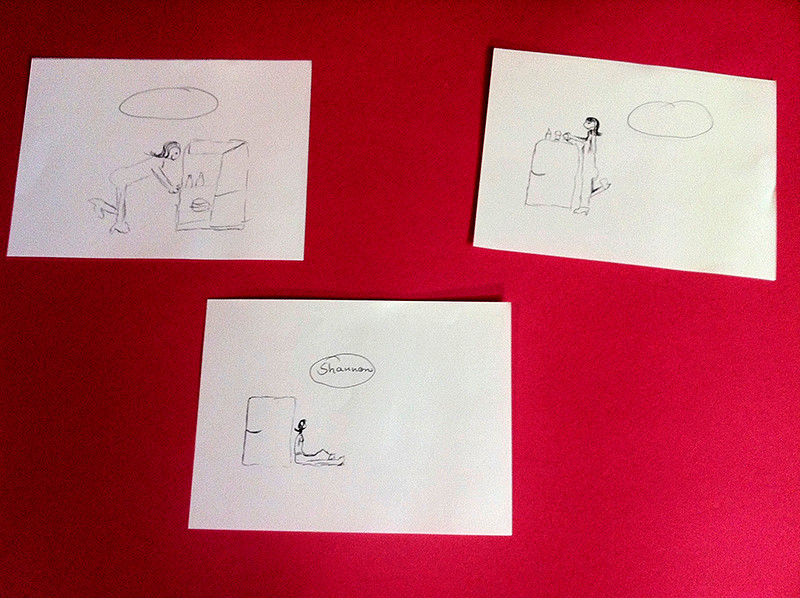 Tatort Zeichnungen