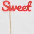 """Schriftzug """"Sweet"""""""