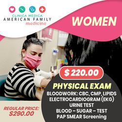 Physical Exam Women Basic Exams Arizona