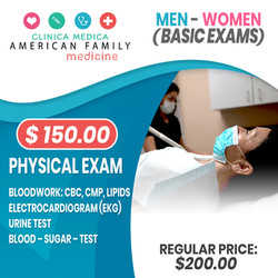 Physical Exam Men Women Basic Exams Ariz