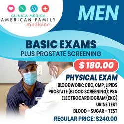 Basic Exams Physical Exam Men Medicine