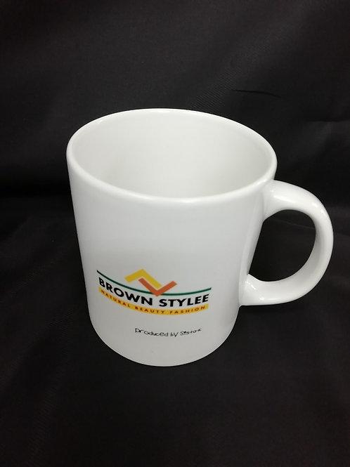 brownstyleeオリジナルロゴマグカップ -A- / Sista-k