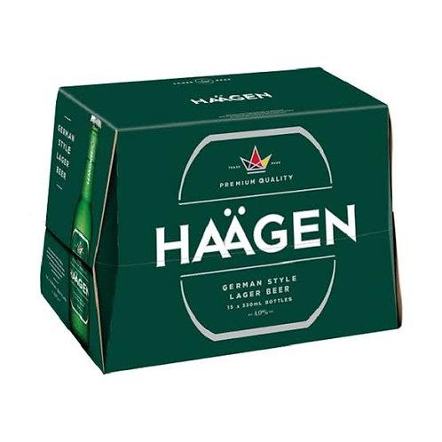 Haagen Beer 15x330ml Btls