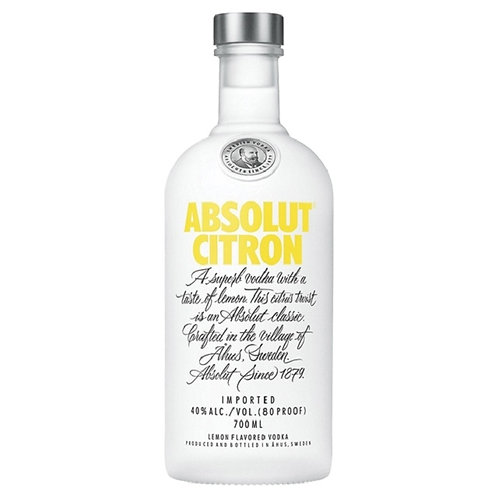 Absolut Citron 700 ml