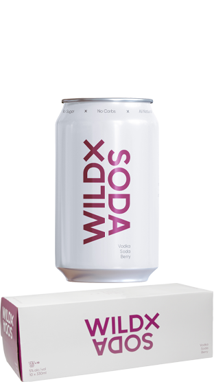 Wild X Soda Berry 10pk cans