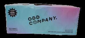 Odd Co Vodka Lemon Lime & Yuzu 10x330ml Can