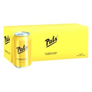 PALS Lemon Cucumber SODA 10x330ml CANS