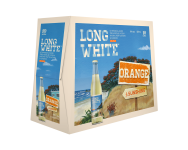 Long White Orange 10PKx320ml Btls