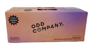 Odd Co Vodka Peach Passion 10x330C