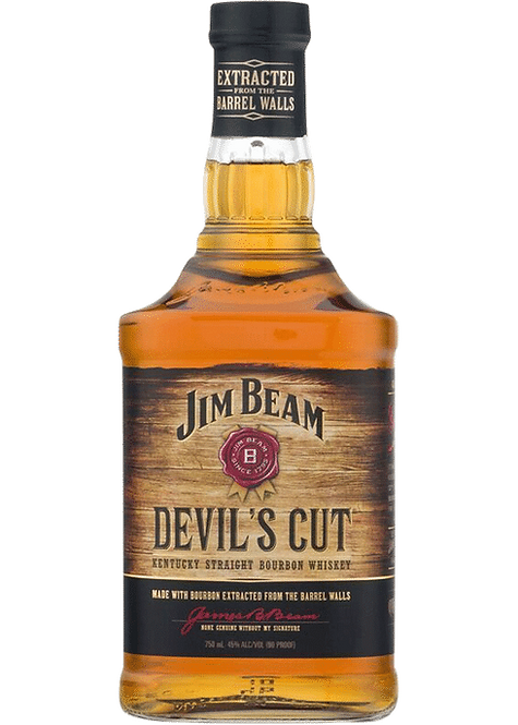 Jim Beam Devils Cut 1 Lt