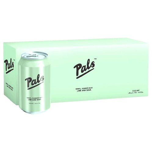 PALS LIME SODA 10X330ml CANS
