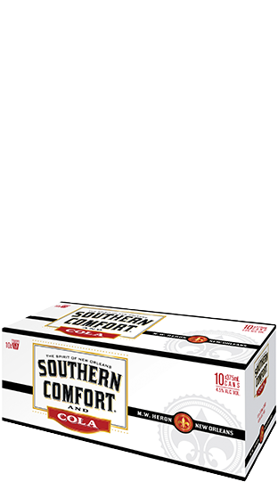 Southern Comfort Cola CAN 10pk