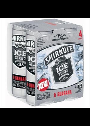 Smirnoff Gaurana 4 Pk cans