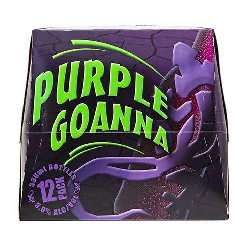 Purple Goanna 12 pk btl 330 ml