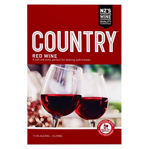Country Soft Red Cask