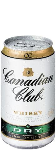Canadian Club Dry 7% 6x330 C