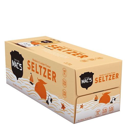Macs Mandarin & Juniper seltzers 10pk Cans