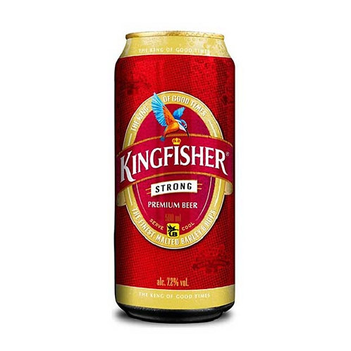 Kingfisher Strong 7.2% 500ml Can