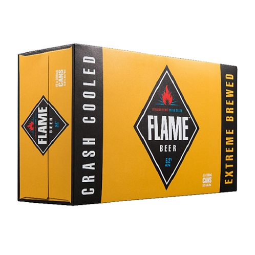 Flame 15pk 330ml Can
