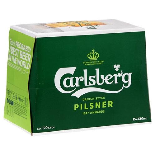 Carlsberg 330ml BTL 15pk