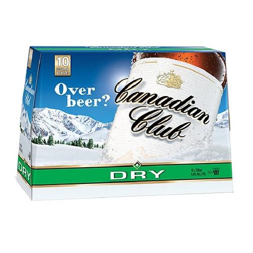 Canadian Club Dry 330ml BTLs 10 Pack