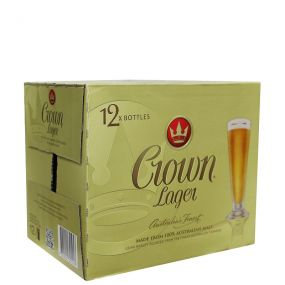 Crown Lager 12x375ml