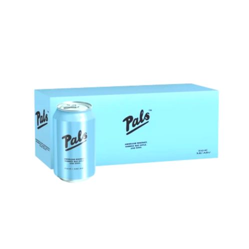 Pals Whiskey & Soda10x330can