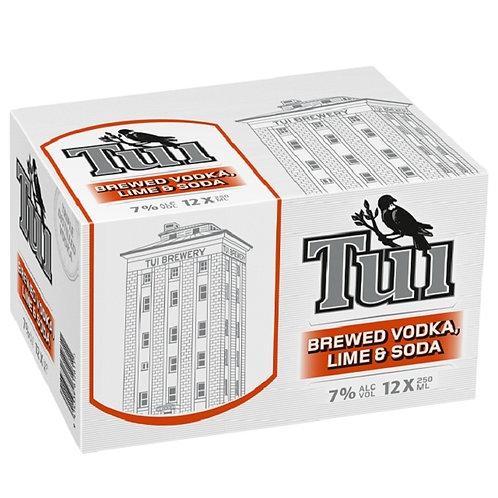 Tui Vodka Lime & Soda 12Pk
