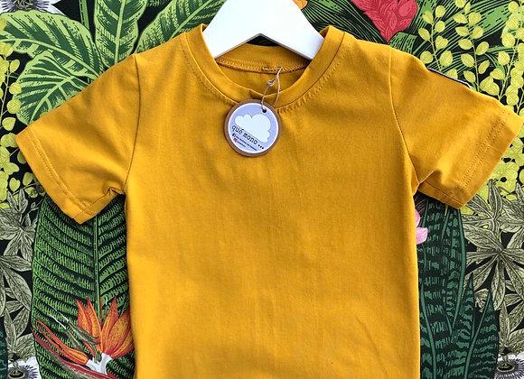 camisa chicos MOSTAZA