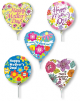 Air Filled Mylar Stick Ballon- ADD ON ITEM ONLY!
