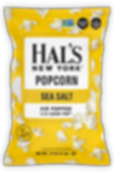 Hal's Popcorn Sea Salt Chips