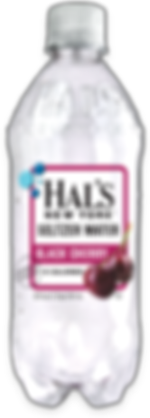 Hal's Seltzer Water Black Cherry