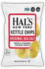 Hal's Orignal Sea Salt Chips
